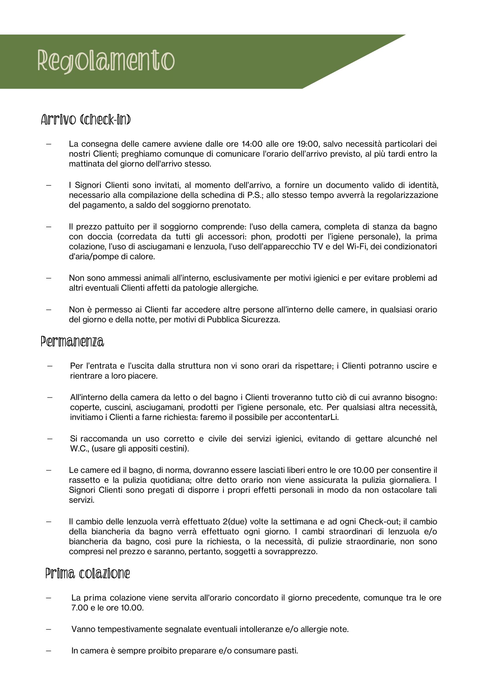 regolamento 1